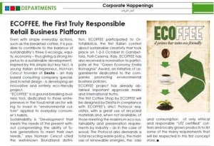 MEF article about the launch of ECOFFEE