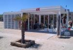 H&M pop up store in Riccione