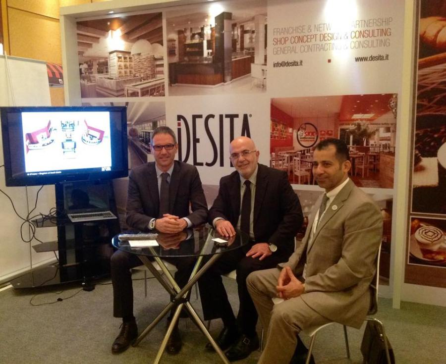 DESITA stand at Ajman Franchising EXPO