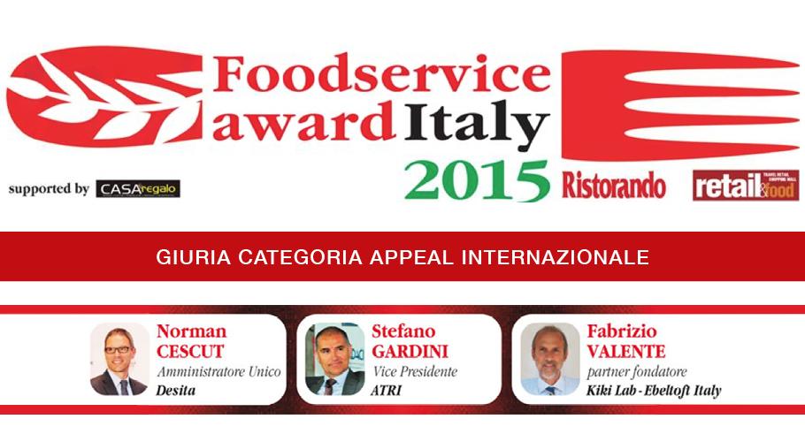 Norman Cescut -BLOG-Foodservice Award Italy